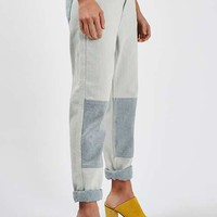 MOTO Patch Knee Boyfriend Jeans - Sale - Sale & Offers