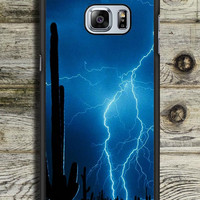 Lightning Cactus Samsung Galaxy S6 Edge Plus Case