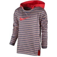 Nike Toddler Girls' Therma-FIT Heather Stripe Hoodie | DICK'S Sporting Goods
