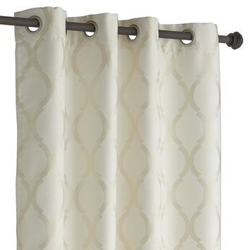 Moorish Tile Curtain - Ivory