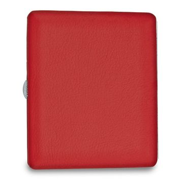 Red Faux Leather Cigarette/card Case