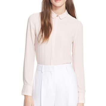 Women's Ted Baker London 'Tiona' Ottoman Accent Blouse,