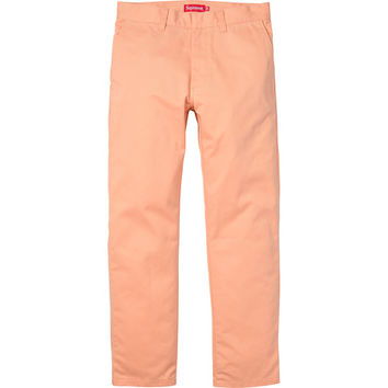 Supreme: Work Pant - Peach