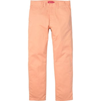 423f7cf034aa Supreme: Work Pant - Peach from Supreme | Threads
