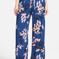 Women's ASTR Print Wide Leg Pants,