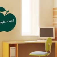 Chalkboard Decal Apple