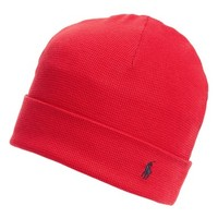 Polo Ralph Lauren Thermal Cuff Cotton Cap | Nordstrom