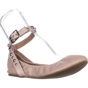 Steve Madden Mollie Ballet Flat, Blush Leather, 7 US