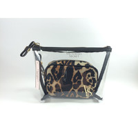 Victoria's Secret Leopard Cosmetic Bag Duo