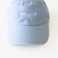 Babygirl Cap - Light Blue