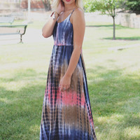 Sea Salt Maxi Dress - Navy