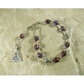 Gwydion Pocket Prayer Beads: Welsh Celtic God of Magic and Trickery