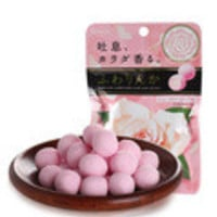 1 Bag Rose Flavors  Chewing Gum Candy , Japanese Candy Snacks Japanese Food Sweets,Japanese-Food-Sweets