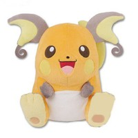 Pokemon Ilove Pikachu Hq Stuffed Toy Raichu All One Banpresto Prize