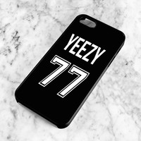 Yeezy 77 Case for iPhone 4, 4s, Hip Hop Kanye Hard Cover for 5, 5s, 5c, Dope Rap Phone Case for 6, 6 Plus