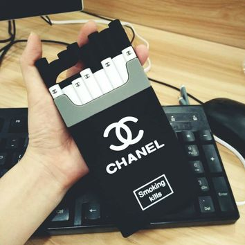 Chanel Cigarettes Contrast I Phone 6 / 6S 7 / 7S Plus Case