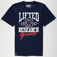 Lrg Lifted 1947 Mens T-Shirt Navy  In Sizes