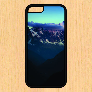 Mountain Landscape Sec1 Phone Case iPhone 4 / 4s / 5 / 5s / 5c /6 / 6s /6+ Apple Samsung Galaxy S3 / S4 / S5 / S6