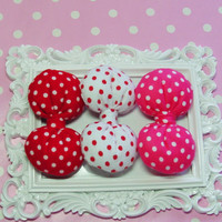 Minnie Mouse Birthday Party Bows Minnie Mouse Party Favor Bows Polkadot bow red bow hot pink bow hair clips kids bows girls bows