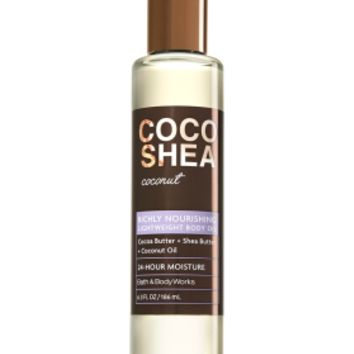 Lightweight Body Oil CocoShea Coconut