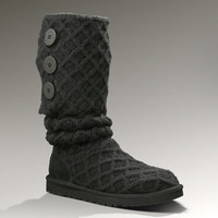 UGG® Lattice Cardy for Women | Merino Wool Sweater Boots at UGGAustralia.com