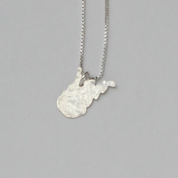 Tiny West Virginia State Necklace