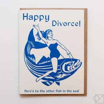 Happy Divorce Greeting Card