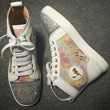 Cl Christian Louboutin Style #2285 Sneakers Fashion Shoes