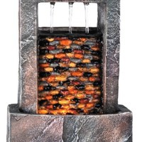 OK LIGHTING FT-1152/1L 10.25-Inch H Fountain with 1 Light