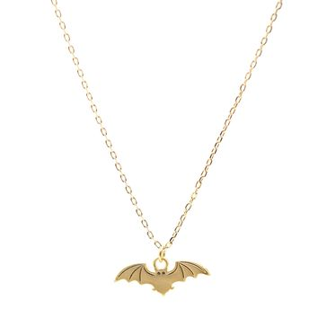 Matte Finish Mighty Bat Necklace