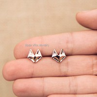 Dainty Fox Earrings