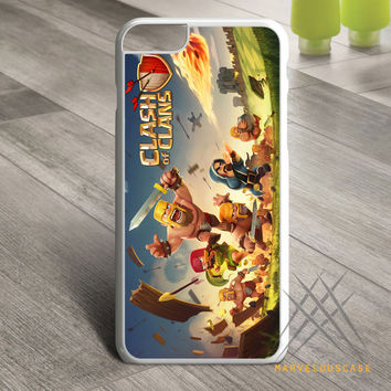 clash of clans game cover Custom case for iPhone, iPod and iPad