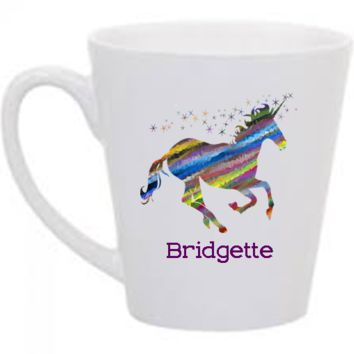Unicorn Rainbow Personalized Mug