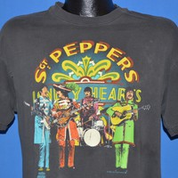90s Sgt Pepper's 25th Anniversary Distressed t-shirt Large