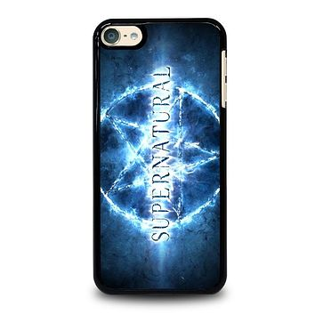 SUPERNATURAL STAR LOGO iPod 4 5 6 Case