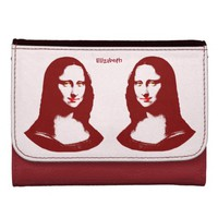 Transparent Pop Art Mona Lisa Wallet