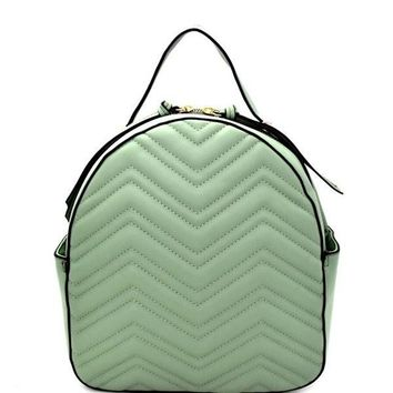 Gucci Inspired soft matelassé chevron quilted leather backpack