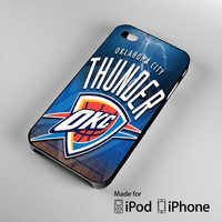 Oklahoma City Thunder OKC A0411 iPhone 4 4S 5 5S 5C 6, iPod Touch 4 5 Cases