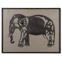Uttermost Kerala Elephant Wall Art - 07669