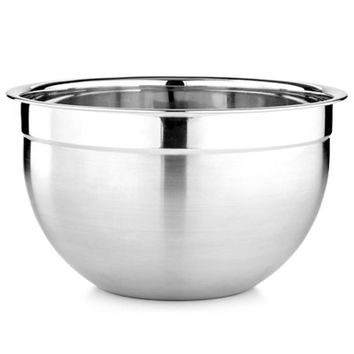 Martha Stewart Collection Stainless Steel Mixing & Prep Bowl, 7.4 Qt., Only at Macy's - Bakeware - Kitchen - Macy's