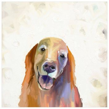 Best Friend - Golden Retriever Wall Art