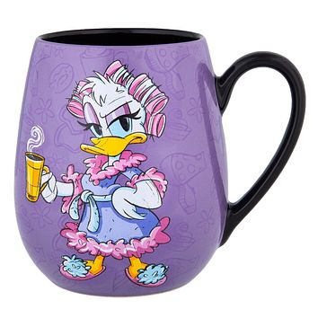 Disney Parks Daisy Bold and Sweet Just Like My Coffee Ceramic Mug New