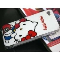iPhone 4 4G Snap-on Hard Hello Kitty Cover Case 2