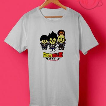 Trio Dragon Ball x Baby Milo T Shirt | Custom Cheapest Shirts