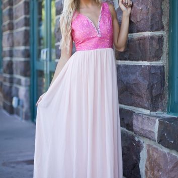 Ease Into Lace in Blush