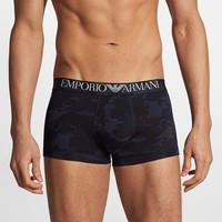 Men's Emporio Armani Stretch Cotton Trunks