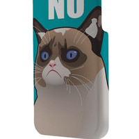 Best 3D Full Wrap Phone Case - Hard (PC) Cover with Cactus the Cranky Cat Design