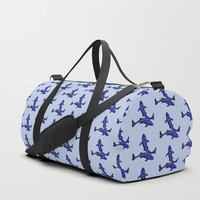 Astrological sign pisces constellation Duffle Bag by savousepate