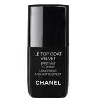 LE TOP COAT VELVET Long-Wear and Matte Effect (0.4 FL. OZ.) - LE TOP COAT VELVET - Chanel Makeup