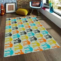 Star wars rugs - ATAT Rug - Nursery Area Rugs - Rugs for Kids